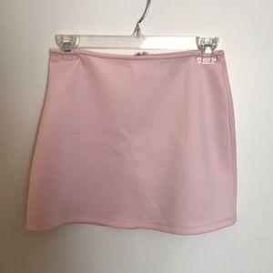 Forever 21 Light Pink Mini Skirt